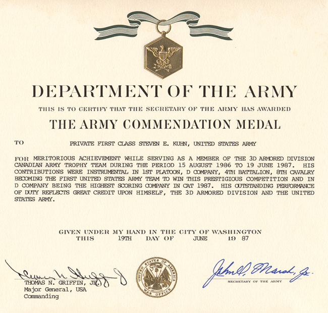 Army Commendation Medal - large