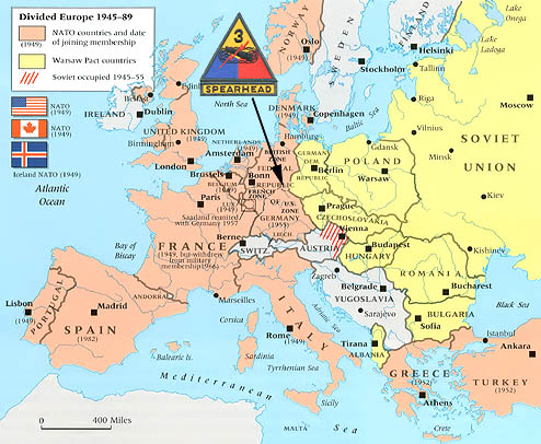 Warsaw On Map NATO Warsaw Pact   List & Map Warsaw On Map